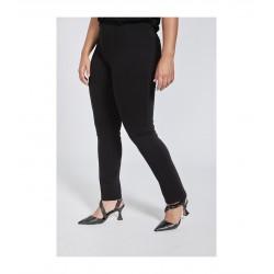 Pantalon punto roma negro